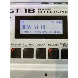 BOSS-GT-1B BASS EFFCTS PROCESSOR