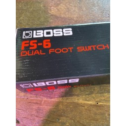boss-FS6 DUAL FOOTSWITCH