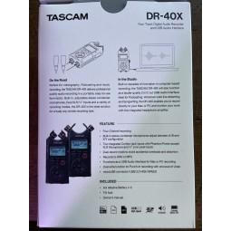 Tascam-DR40X ENREGISTREUR 4 PISTES
