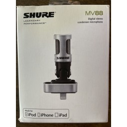 SHURE-MV88 MICRO STATIQUE STEREO IOS