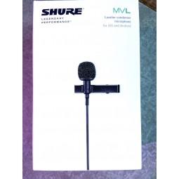 SHURE-MVL MICRO CRAVATE MOTIV