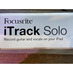 Focusrite-iTrack Solo iPad