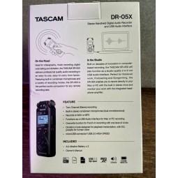 tascam-DR05X