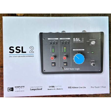 SSL2 USB 2IN 2OUT