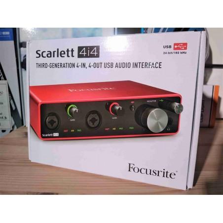 SCARLETT3 4I4 USB-C