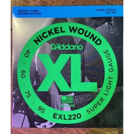 EXL220 BASSE SUPER SOFT 40-95