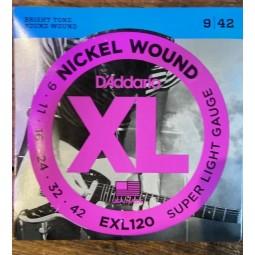 DADDARIO-EXL120 SUPER LIGHT 9-42
