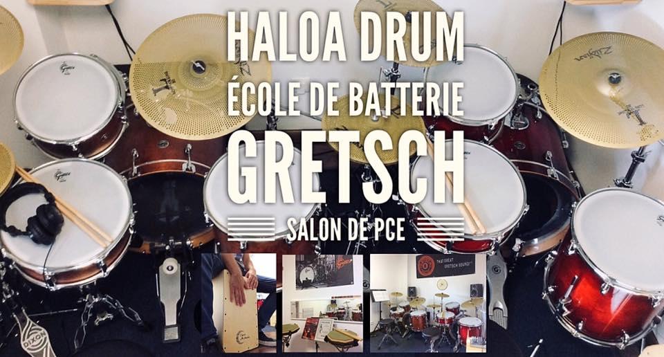 ecole de batterie haloa gretsch